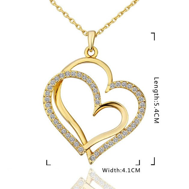 Necklace Heart MOM 6 first name Stone Birth Golden + Box